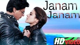 Janam Janam   Shah Rukh Khan , Kajol ,   New Song 2015   Dilwale