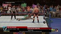 """Stone Cold"" Steve Austin vs. Jake Roberts: WWE 2K16 2K Showcase walkthrough - Part 1"