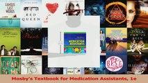 PDF Download  Mosbys Textbook for Medication Assistants 1e PDF Full Ebook