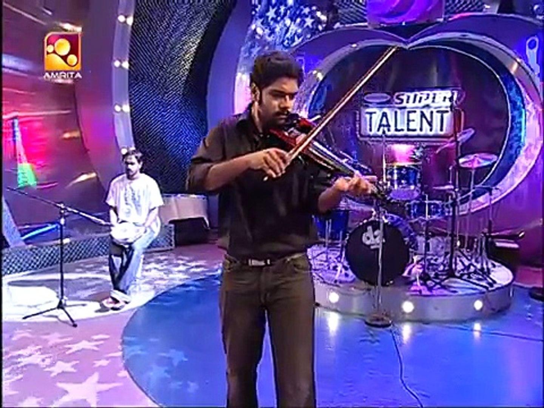 Bakat Musik Paling Keren di Ajang Super Talent India (Govind P. Menon)