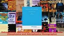 Read  Extragalactic Astronomy Lecture notes from Córdoba Geophysics and Astrophysics Ebook Free