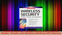 Download  Wireless Security Models Threats and Solutions Models Threats and Solutions McGrawHill Ebook Free