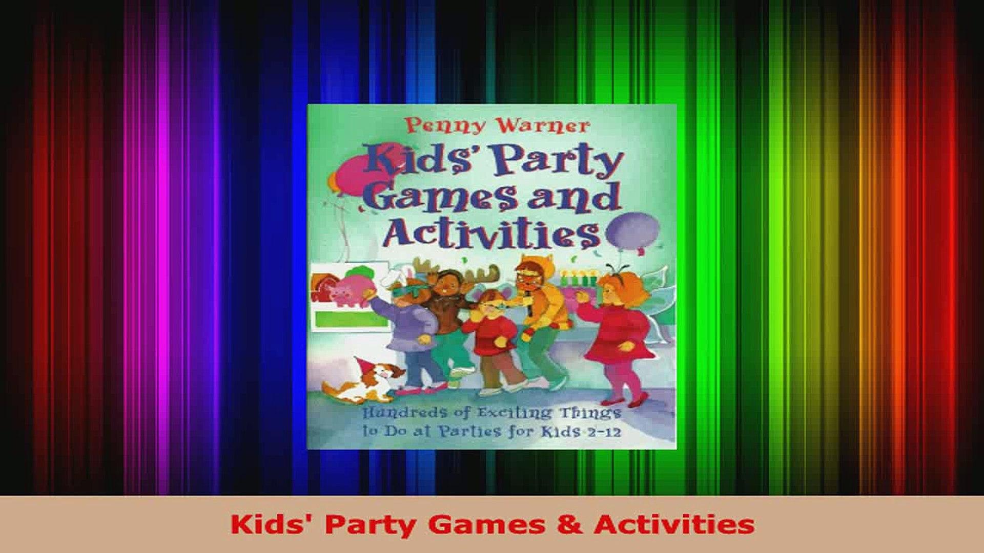 Download  Kids Party Games  Activities Ebook Free