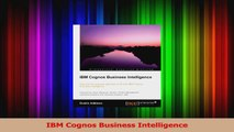 Download  IBM Cognos Business Intelligence Ebook Online