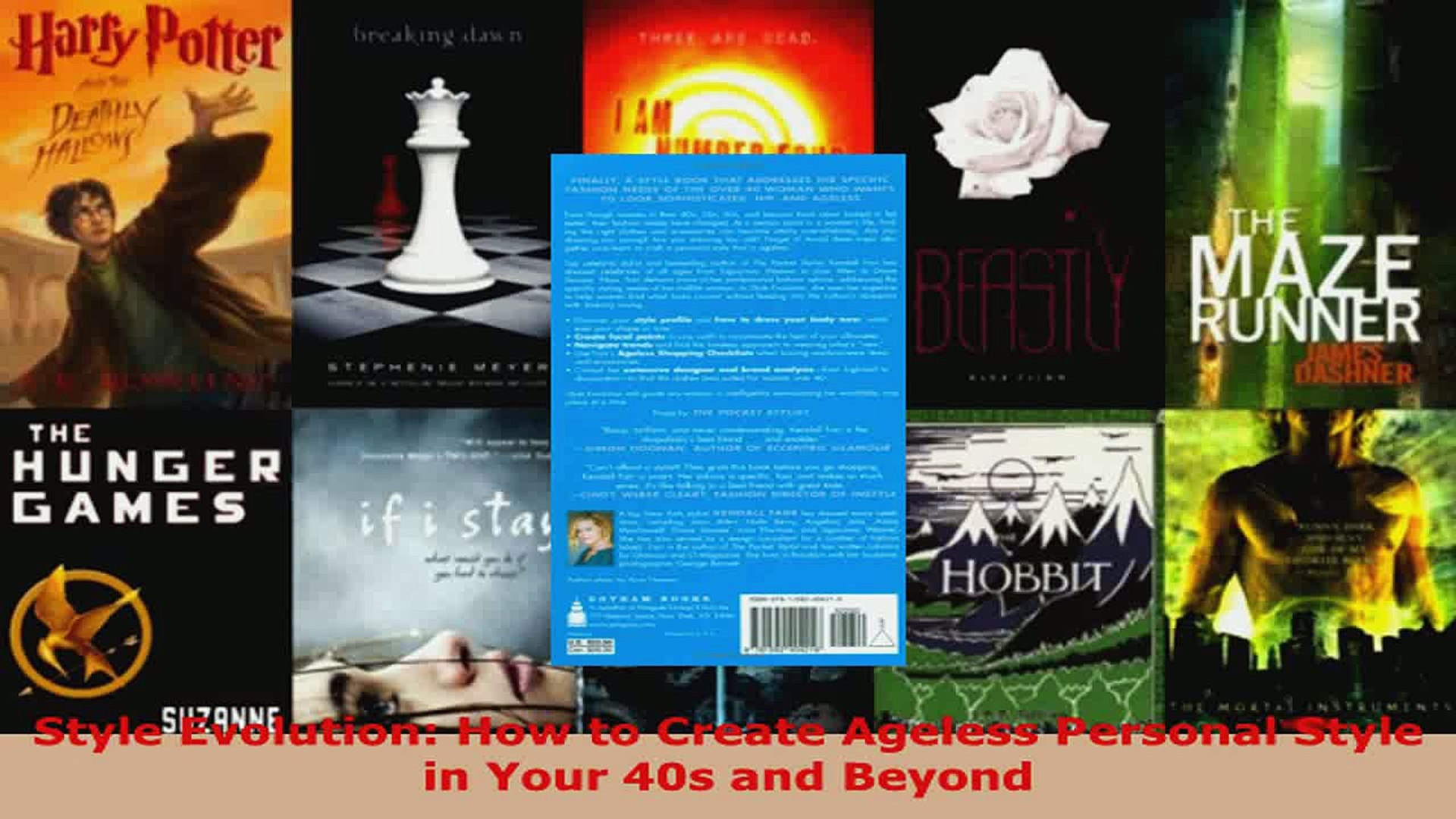 Download  Style Evolution How to Create Ageless Personal Style in Your 40s and Beyond PDF Online