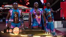 WWE Reigns, Ambrose & The Usos vs. Sheamus, Barrett, Rusev, Del Rio & New Day- Raw, Nov. 30, 2015