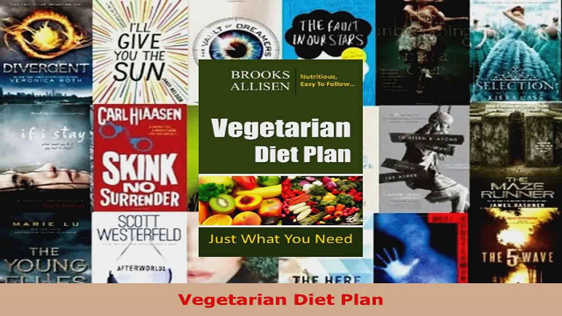 Read  Vegetarian Diet Plan Ebook Free