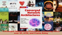 Read  Converged Network Architectures Delivering Voice over IP ATM and Frame Relay Ebook Online