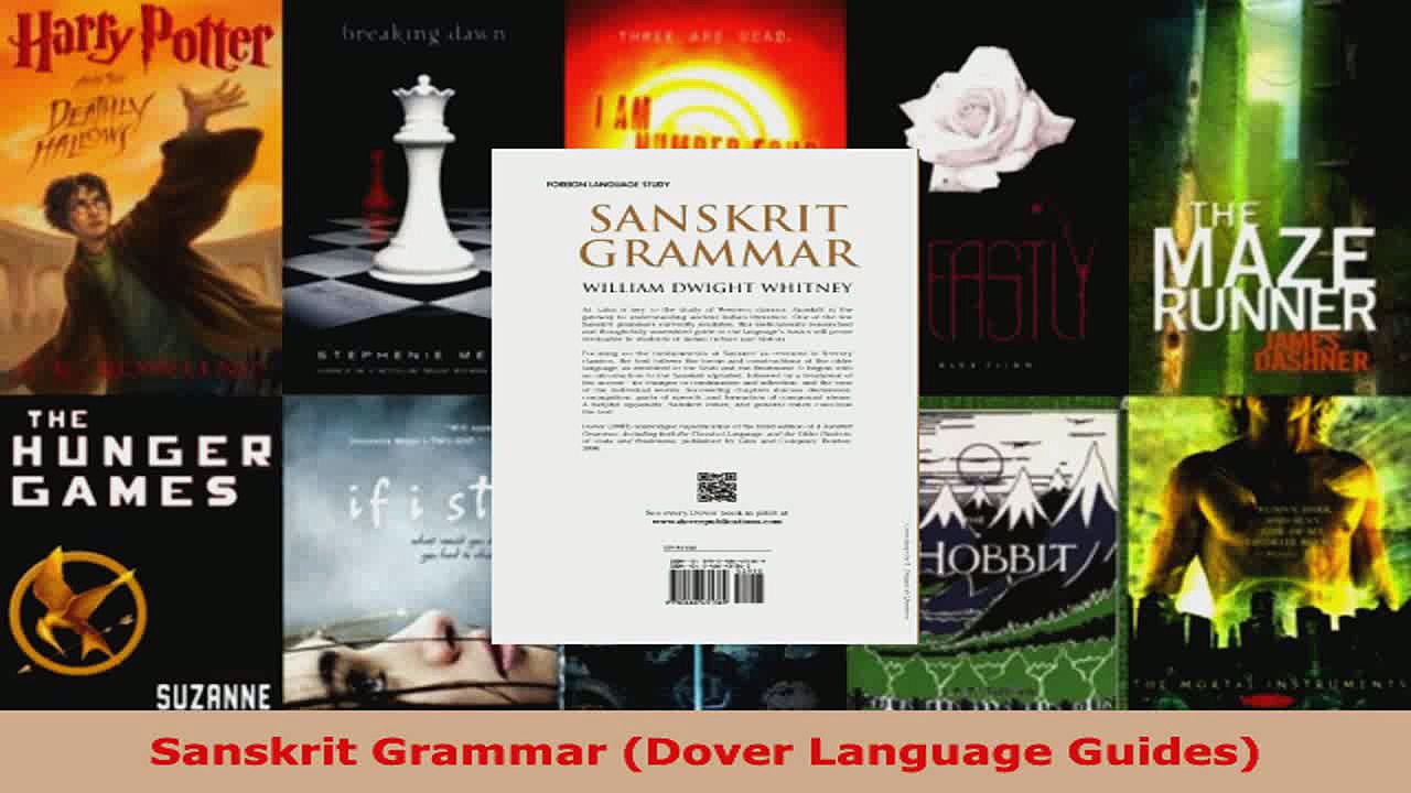 Download  Sanskrit Grammar Dover Language Guides Ebook Free