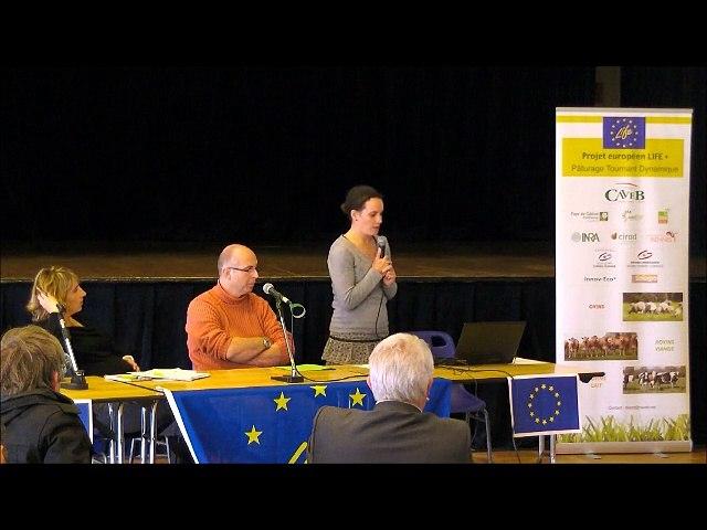 Présentation des actions de la CAVEB - Séminaire Life PTD du 15 Octobre 2015 au Tallud (79)