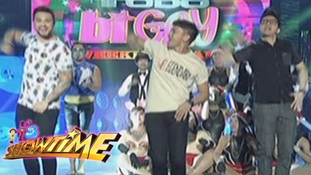 It's Showtime: Get swag with Vhong, Billy and Jhong