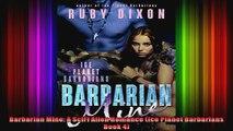 Barbarian Mine A SciFi Alien Romance Ice Planet Barbarians Book 4