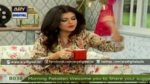 Maria Wasti in a new style