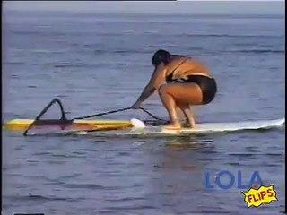 Lamest Windsurfing Attempt Ever