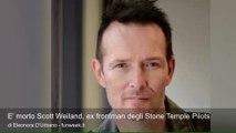 E' morto Scott Weiland, ex frontman degli Stone Temple Pilots