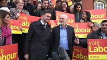 Jeremy Corbyn speaking on Labour victory in Oldham