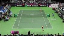 Fedcup 2015 Final RUS vs CZE Highlight Maria Sharapova vs Petra Kvitova