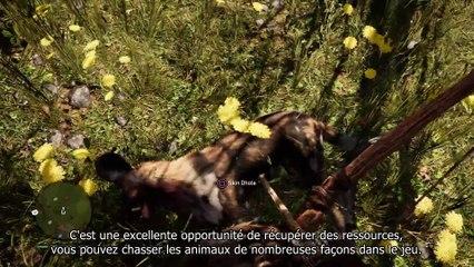 9 minutes de gameplay - la vie sauvage d'Oros de Far Cry Primal