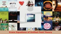 PDF Download  Evans Equations of Unified Field Theory Read Online