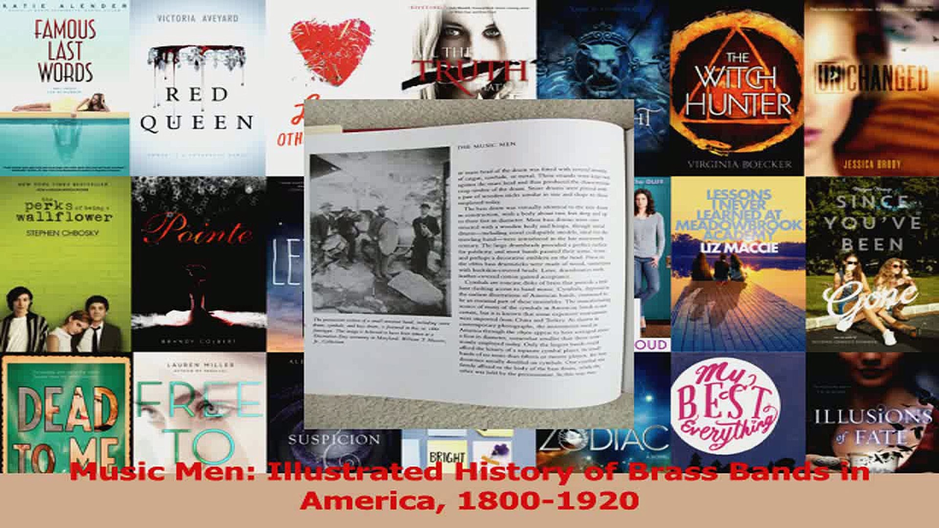 Read  Music Men Illustrated History of Brass Bands in America 18001920 Ebook Free
