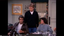 FONZIE BAPTIZED on 88th Day of Year, 88th Episode of HAPPY DAYS