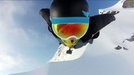 Breathtaking Alaskan Winter Wingsuit Flight   EpicTV Fresh Catch