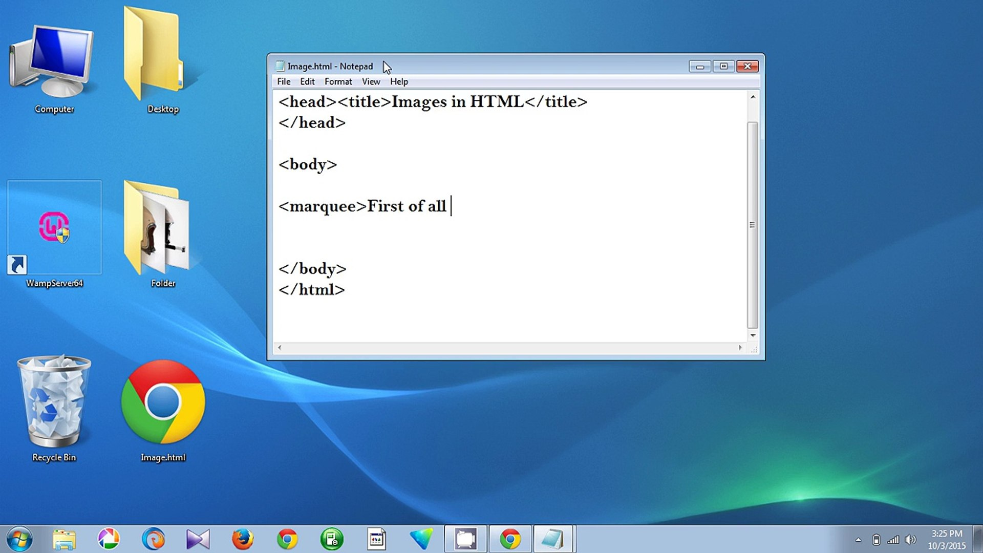 How To Insert Image In HTML Using Notepad - Quick and Easy