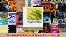 PDF Download  The Scientific Papers of James Clerk Maxwell Read Online