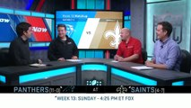 NFL- Panthers vs. Saints (Week-13) Preview