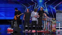 3 Shades of Blue  Pop Rock Band Covers Nina Simone s  Feeling Good  - America s Got Talent 2015