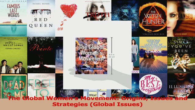 Read  The Global Womens Movement Origins Issues and Strategies Global Issues Ebook Free