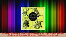 Read  Animal Studies 550 Illustrations of Mammals Birds Fish and Insects Dover Pictorial Ebook Free