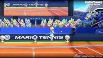 Mario Tennis: Ultra Smash - Classic Tennis w/ No Mega Mushrooms (60fps Gameplay)