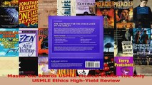 Master the Boards USMLE Medical Ethics The Only USMLE Ethics HighYield Review Download