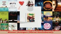 Read  Avengers  West Coast Avengers Along Came A SpiderWoman Avengers Marvel Unnumbered Ebook Free