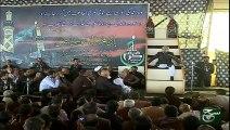 Allama Talib Johri Great Schlor in Majlis Chehlum 4 December 2015 -