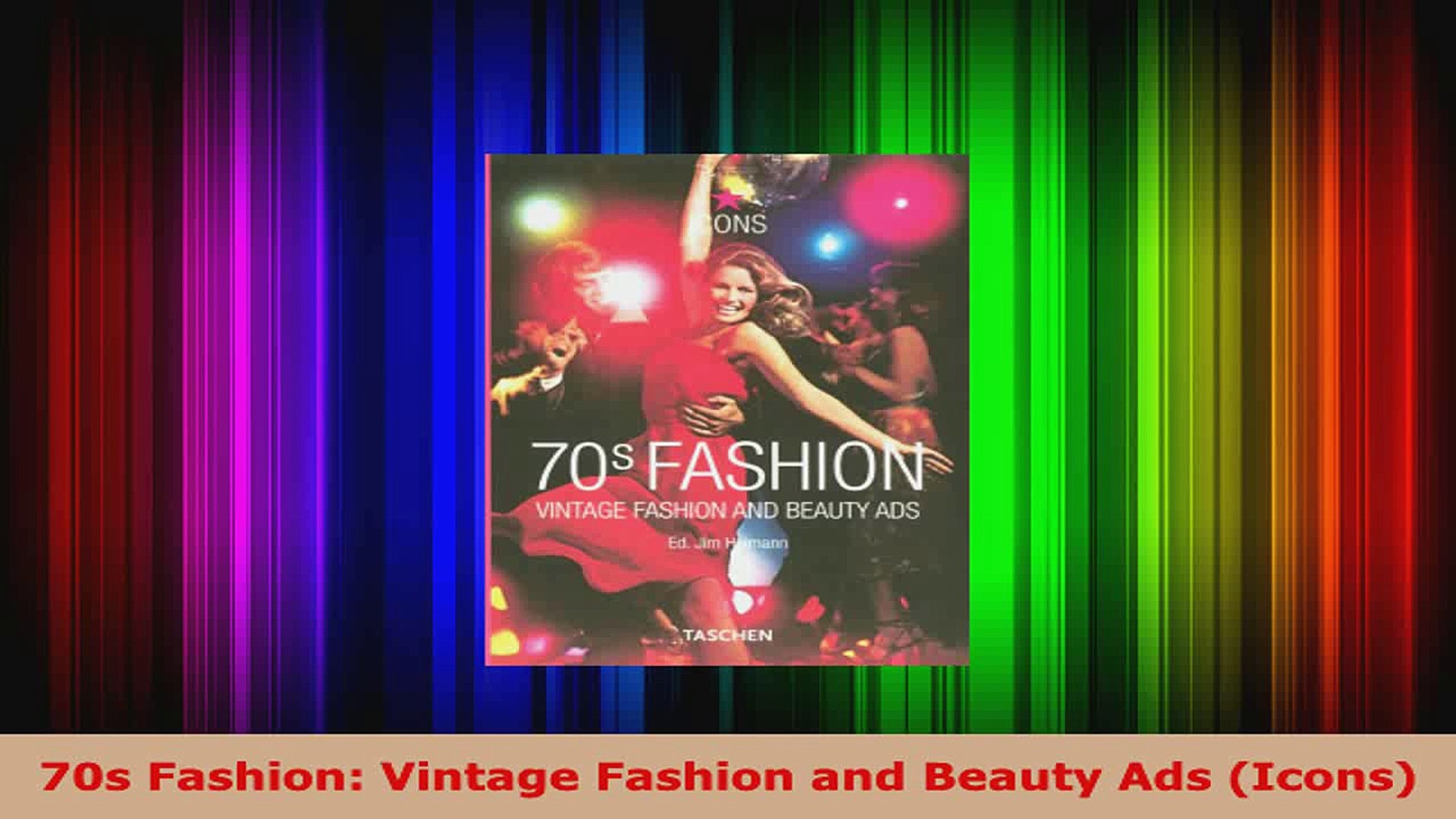 Download  70s Fashion Vintage Fashion and Beauty Ads Icons PDF Free