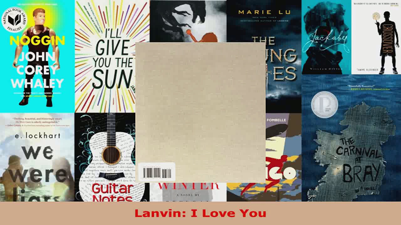 Read  Lanvin I Love You Ebook Free