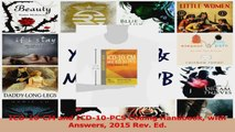 PDF Download  ICD10CM and ICD10PCS Coding Handbook with Answers 2015 Rev Ed Read Online