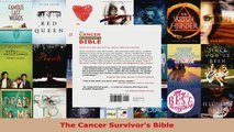 Read  The Cancer Survivors Bible PDF Online
