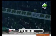Shahid Afridi Hits A huge Six In BPL 2015