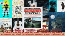 Read  Preppers Survival The Ultimate Preppers Guide to Prepare You for Urban Survival Preppers EBooks Online