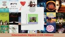 Read  Intermediate Algebra 11th Edition PDF Online