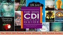 Read  The 2015 CDI Pocket Guide Pinson CDI Pocket Guide Ebook Free
