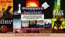 Read  Preppers Survival Box Set 25 Survival Strategies that Will Save Your Life plus Everything Ebook Free