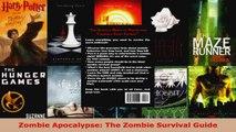 Read  Zombie Apocalypse The Zombie Survival Guide PDF Free