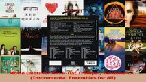 Download  Movie Duets for All Bflat Trumpet Baritone TC Instrumental Ensembles for All Ebook Free
