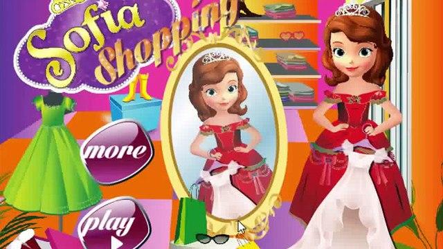 Princess Sofia Game Movie Princess Sofia Shopping Baby games movies for kids