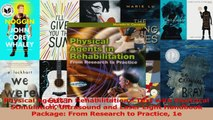 PDF Download  Physical Agents in Rehabilitation  Text with Electrical Stimulation Ultrasound and Laser PDF Online