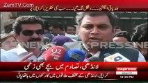 Imran Palejo MQM Worker Threatening Voters In Polling Station- Ali Zaidi